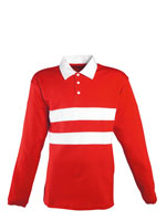 Unisex Polo Shirt Long Sleeve