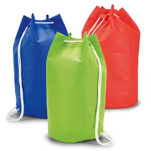 Sailor bag. Non-woven: 80 g/m². ø250 x 450 mm Environmentally friendly item