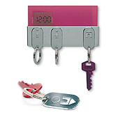 Key Holders - ARCO My Key. Magnetic Key Ring Holder and Digital Wall Clock