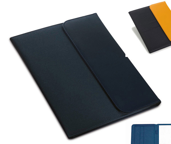 Ντοσιέ συνεδρίων - Document folder with several pockets, name card holder and loop. A4 notepad with 25 pages included.